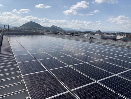 2020年11月19日 エニシア高松インテリジェントパーク新築に伴う防災対応型太陽光発電システムの運転を開始いたしました。