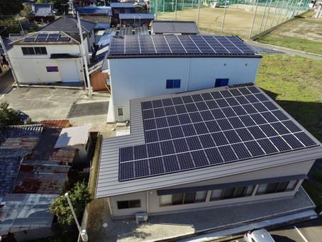 2020年11月19日 坂本五号太鼓蔵および天神自治会新築に伴う防災対応型太陽光発電システムの運転を開始いたしました。