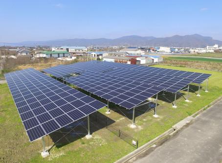 2020年3月19日|営農型ソーラーシェアリング(426.06kW)の連携運転を開始いたしました。