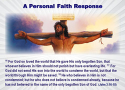 A Personal Faith Response