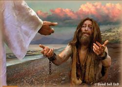 Jesus' Power Over a Legion of Demons