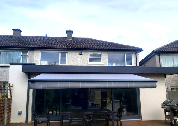 Awning  fitted in Dublin
