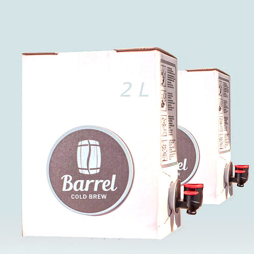 4 L Barrel Cold Brew (2 x 2 L Boxen)