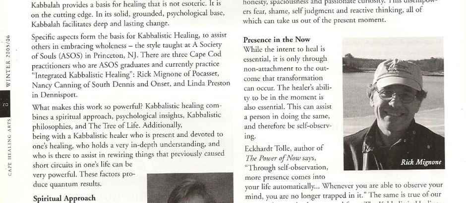 The Power of Kabbalistic Healing