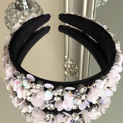 Florence Headband White