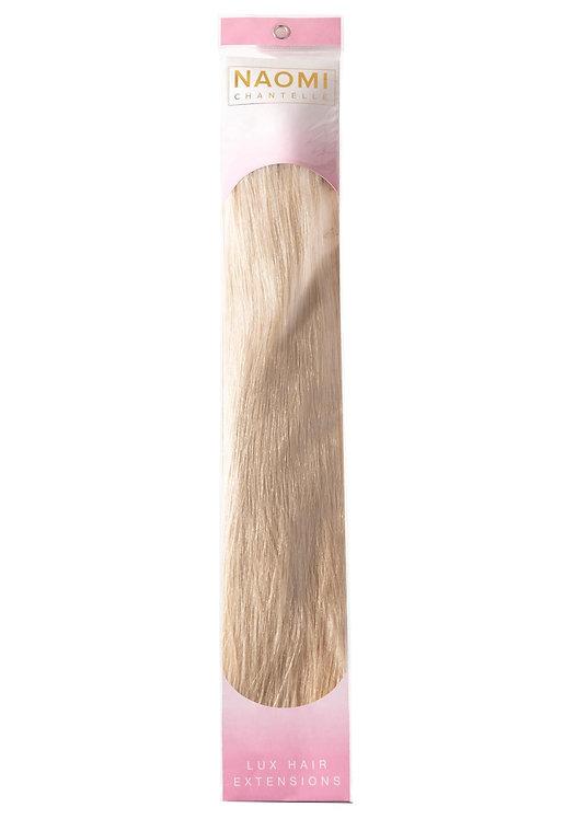 VANILLA ICE BLONDE - Naomi Chantelle Lux weft Hair Extensions