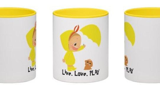 """Live, Love, PLAY""Mug 11"""