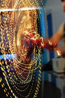Fairy Light Catherine Wheel