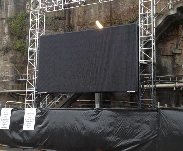 Modular screen display