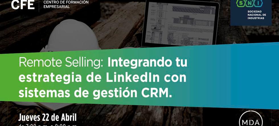 Masterclass B2B - Integrando tu estrategia de estrategia de Linkedin con sistemas de gestión CRM