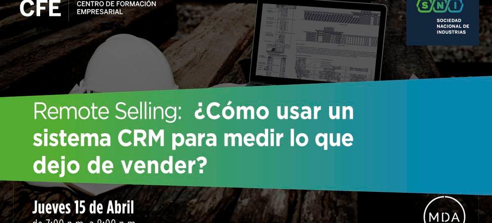 Masterclass B2B ¿Cómo usar un sistema CRM para saber lo que dejo de vender?