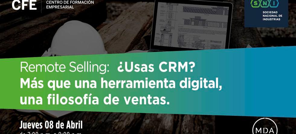 Masterclass B2B ¿Usas CRM? Más que una herramienta digital, una filosofía de venta