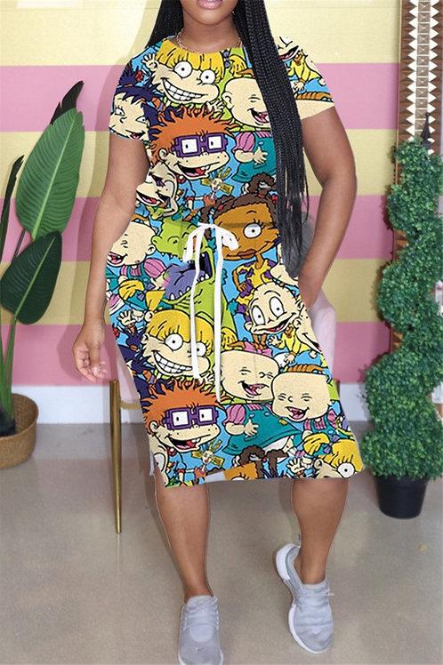 Rugrats draw string Dress