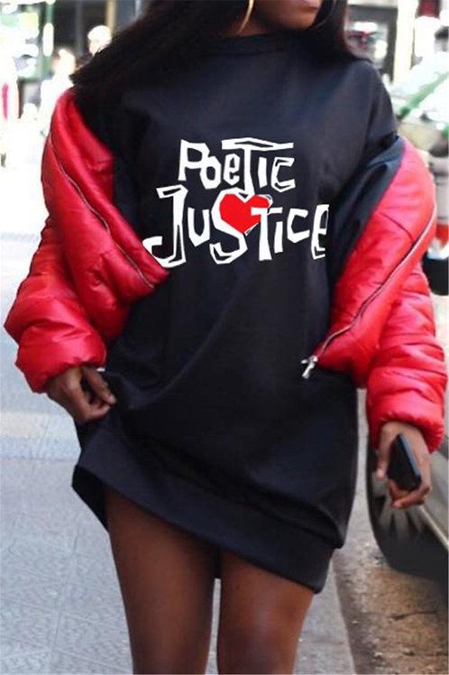 Poetic Justice Crew Dress