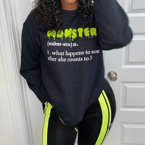 Momster  sweatshirt