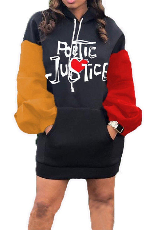 Poetic Justice Hoodie dress