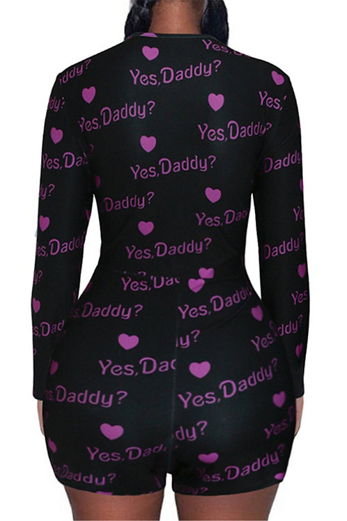 Yes Daddy Play suit