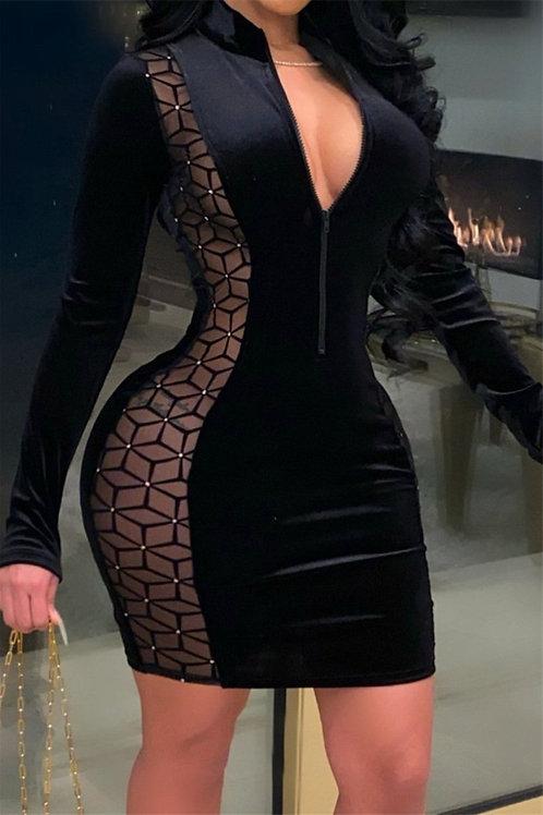 Obsidian  Dress