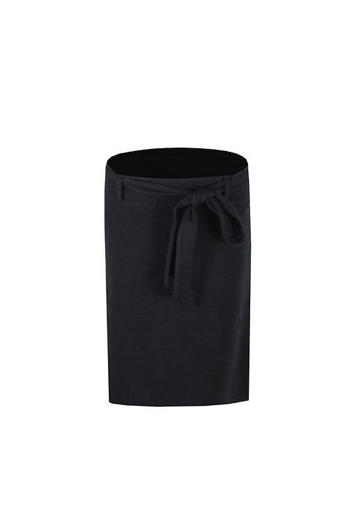 C&S rok zwart met strik