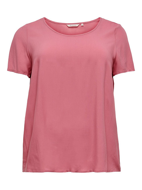 ONLY Carmakoma T-shirt roze