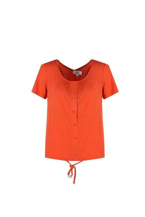 C&S top oranje