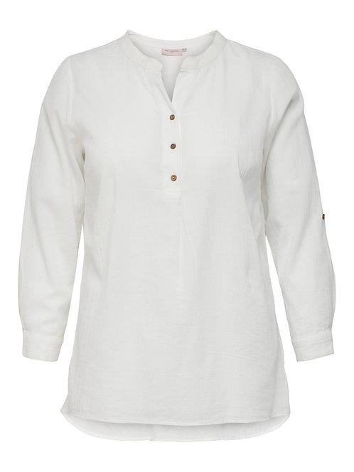 ONLY Carmakoma blouse CANTA wit (vergelijkbare foto)