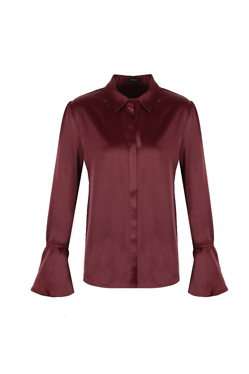 G-maxx blouse bordeauxrood
