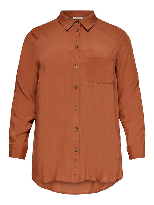ONLY Carmakoma blouse roest
