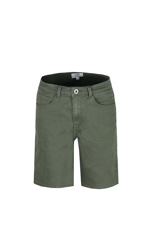 C&S short Marlieke gewassen groen