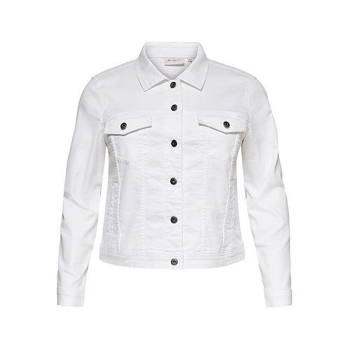ONLY Carmakoma jacket WESPA wit