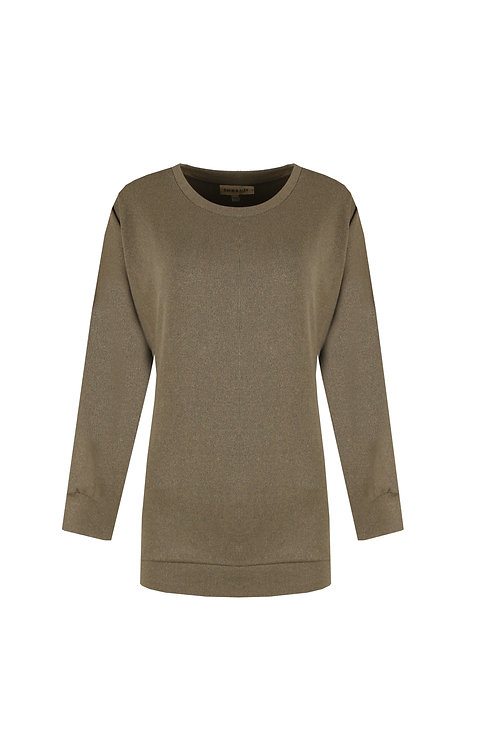 C&S sweater taupe