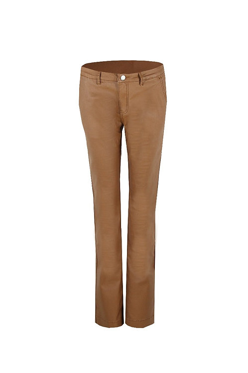 G-maxx flair broek camel leatherlook
