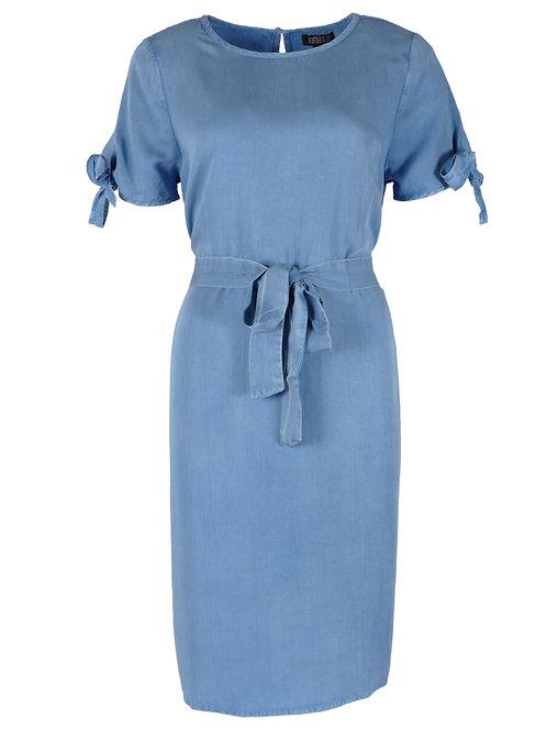 Rebelz jurk Joy jeansblauw