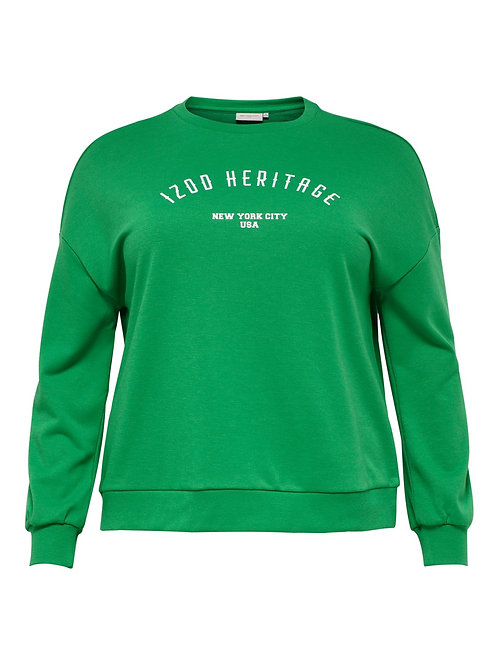 ONLY Carmakoma sweater groen