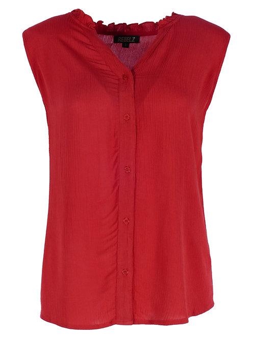 Rebelz blouse Jolein rood
