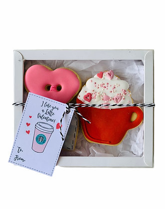 """I Like You a Latte"" Gift box"