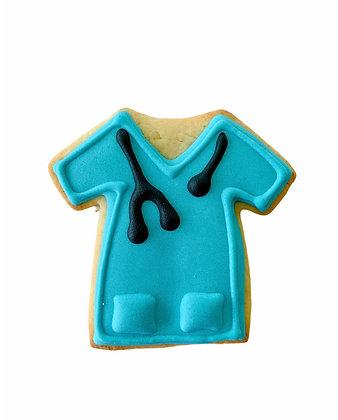 Blue Doctor Overcoat Cookie