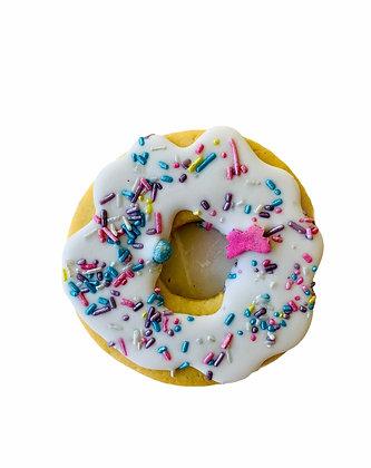 White Donut Cookie