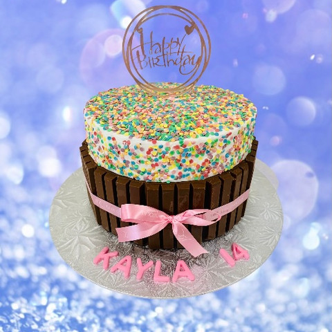 KitKat Confetti Cake in all flavours