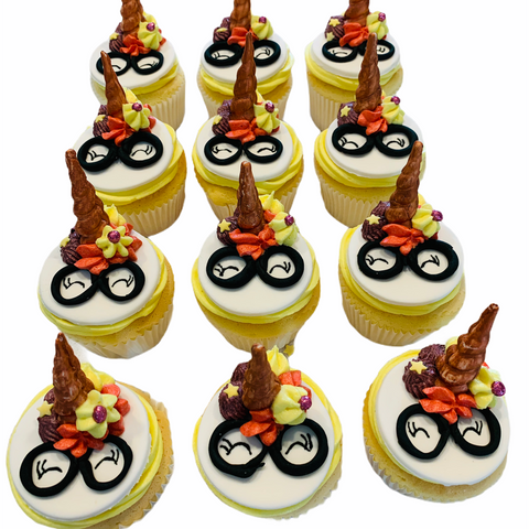 Harry Potter Unicorn Cupcakes