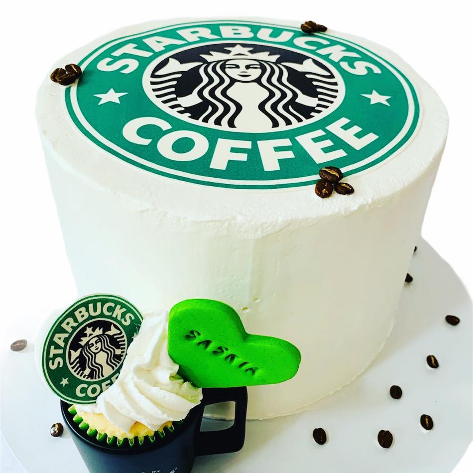 Starbucks Birthday Cake