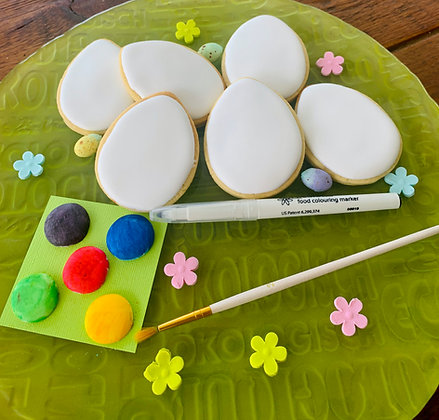 Paint your own Easter Egg Cookie