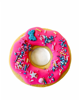 Pink Donut Cookie