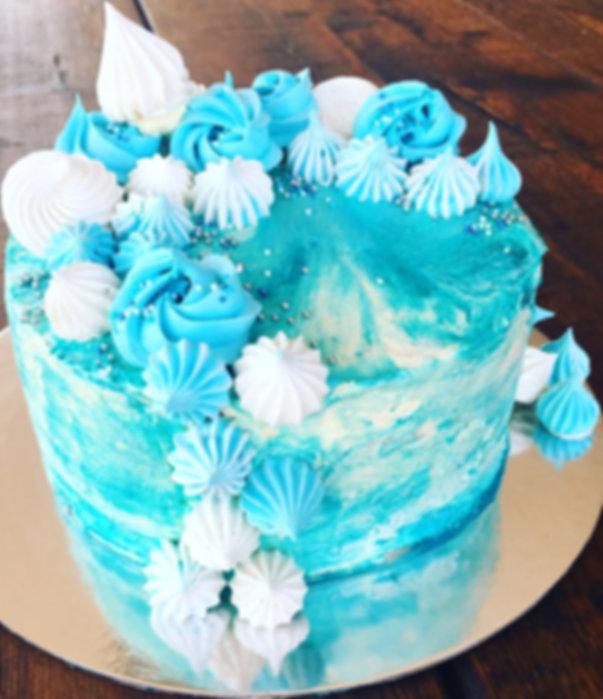 Sea Swirl Cake