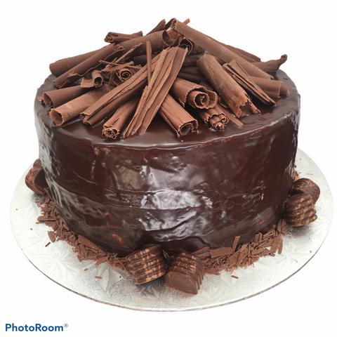 Death By Chocolate Birthday Cake