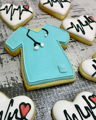 Medical Theme Biscuit Designs