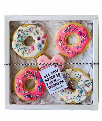 """All You Need Is Love And Donuts"" Gift Box"