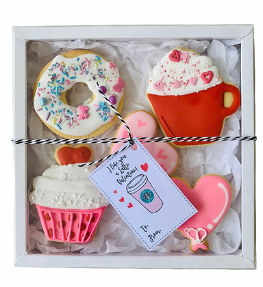 Mixed Treat Valentine Gift Box