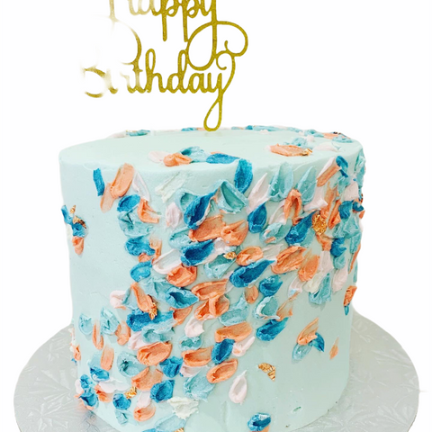 Arty Birthday Cake