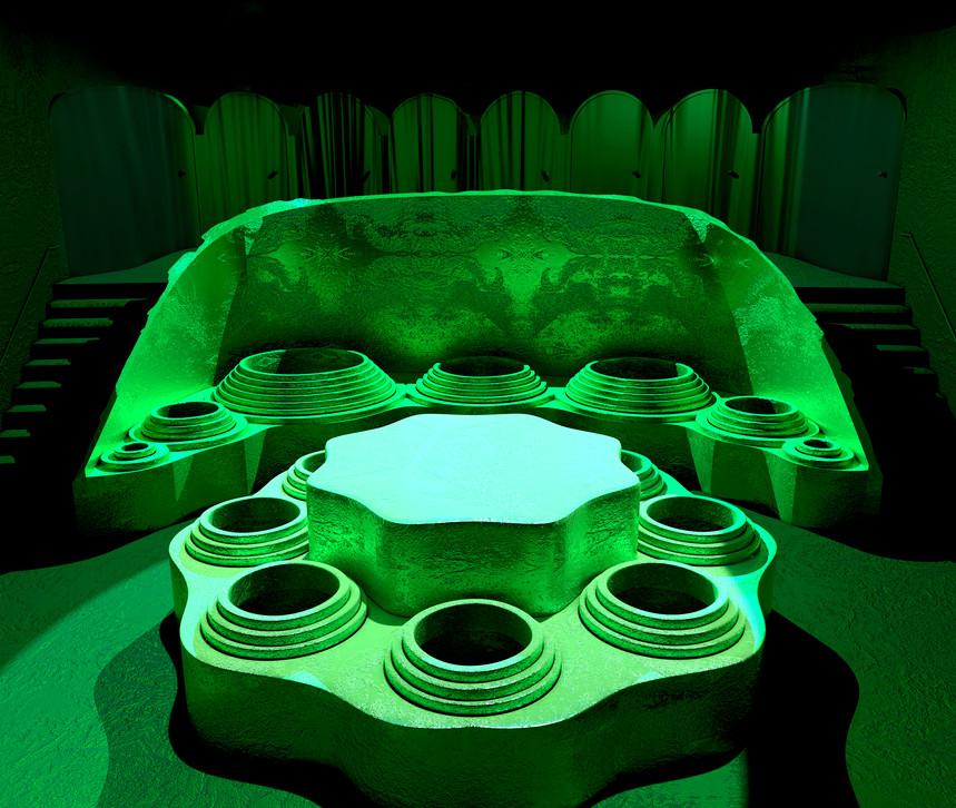 K.02. The Derobing Chamber.